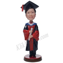 Patung Official Graduation Girl 1