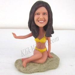 Patung Lifestyle Beach Girl