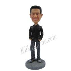 Patung Moviestar Man in Black