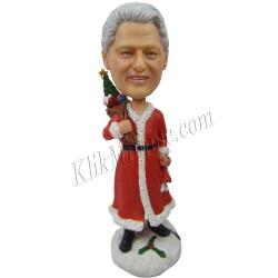 Patung Christmas Santa Man 2