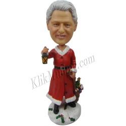 Patung Christmas Santa Man 3