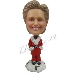 Patung Christmas Santa Girl 1