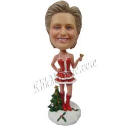 Patung Christmas Sexy Santa Girl 1