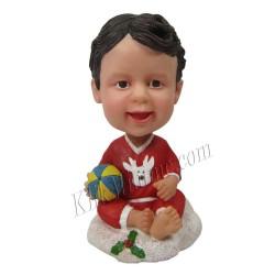 Patung Kiddies Christmas Baby Ball