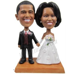Patung Wedding Cake Topper