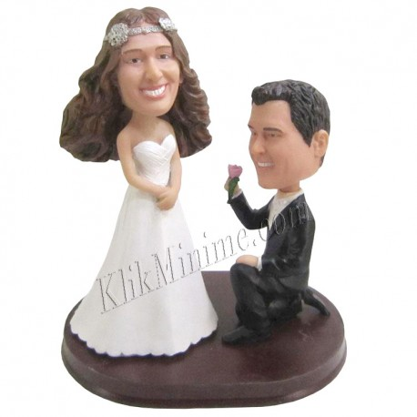 Patung Wedding Will you marry me