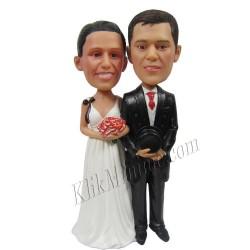 Patung Wedding Hand in Hand 1