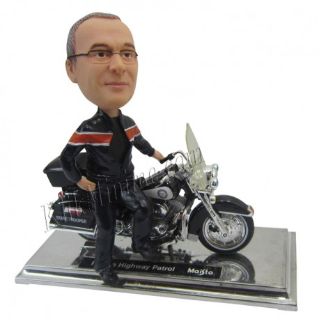 Patung Rider Mini Harley 3