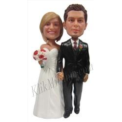 Patung Wedding Cake Topper4