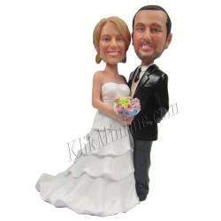Patung Wedding Cake Topper6