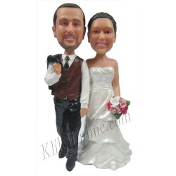 Patung Wedding Cake Topper8