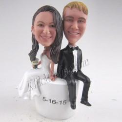 Patung Wedding Cake Topper 10