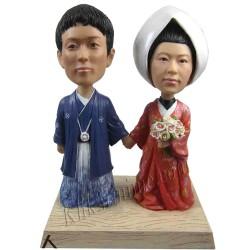 Patung Wedding Tradition Jepang