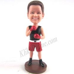 Patung Sports Boxer 3