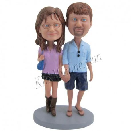 Patung Romance Couple 1