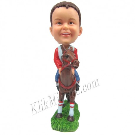 Patung Rider Horse for Boy