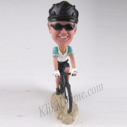 Patung Rider Bicycle 2