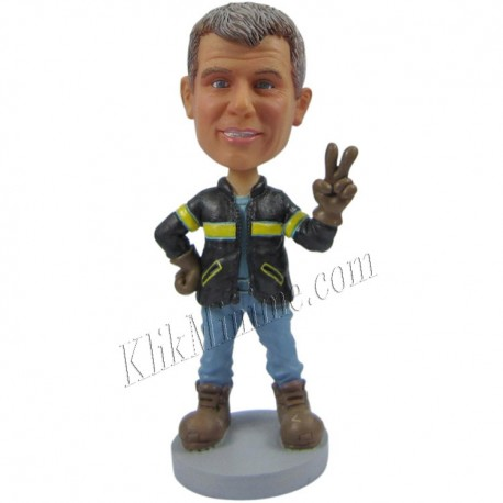 Patung Profession Fireman 1