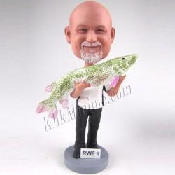 Patung Profession Fisherman 2